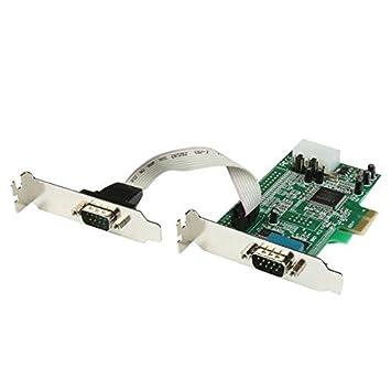 StarTech.com Tarjeta Adaptadora PCI Express de 2 Puertos ...