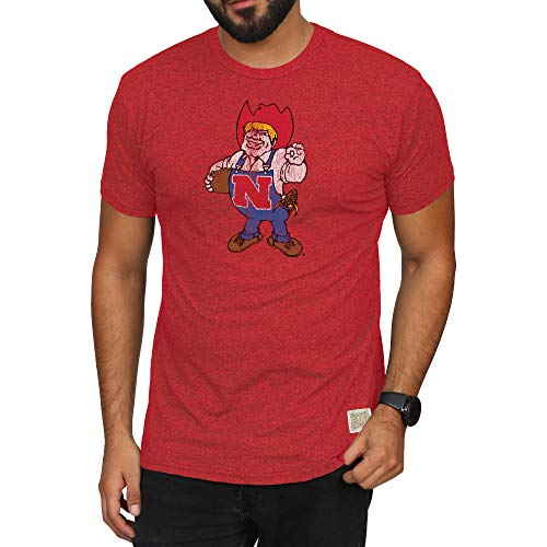 Elite Fan Shop Nebraska Cornhuskers Retro Tshirt Scarlet - M ()
