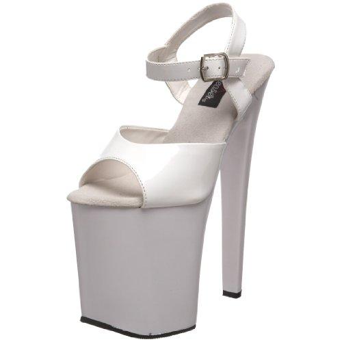 Vestir Sandalias De Mujer Xtreme Pleaser 809 Blanco Para UHnwEI