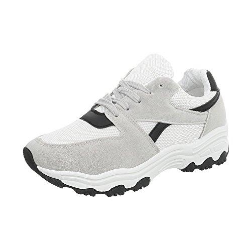 Plano Bajas Ital Multi Zapatillas Gris 149 Zapatos para G Zapatillas Mujer Design ZZfXqFa