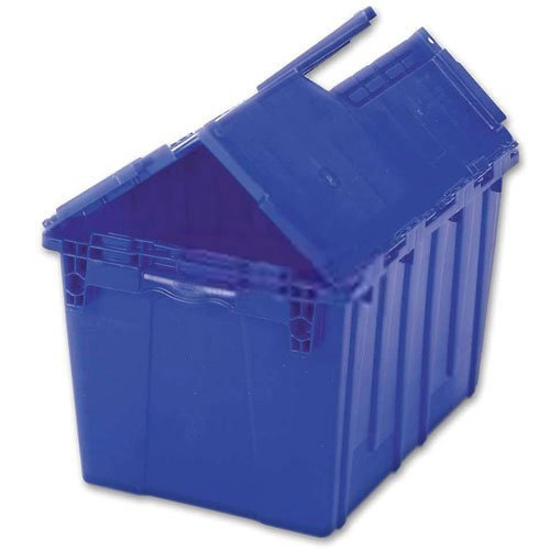 ORBIS FP261 Flipak Distribution Container - 23-7/8 x 19-5/8 x 12-5/8 Blue - Lot of 3