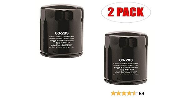 2 filtres à huile pour Robin Subaru 261-65902-AO 248-65801-00 Shindaiwa 5023396X1