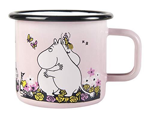 Moomin Enamel Mug Moomin Hug 3,7 dl Muurla
