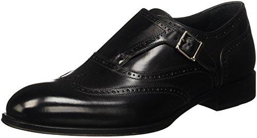 Geox U Antwan a, Zapatos de Vestir para Hombre Schwarz (BLACKC9997)