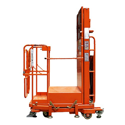 Semi-Electric Push Around Aerial Personnel Lift Powered Stacker by Northlight