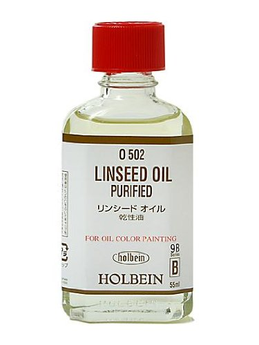 Holbein Linseed Oil- Purified 55 ml ()