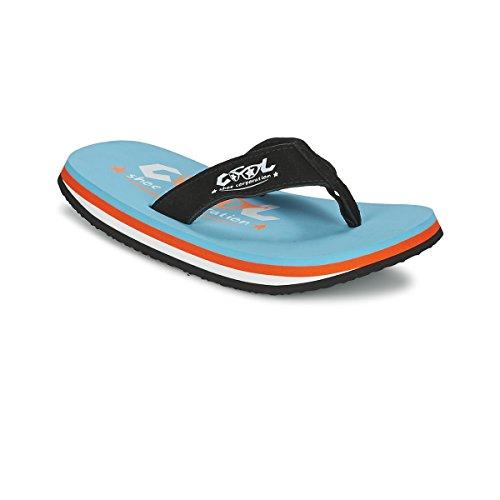 Flops Pi Shoes Badeschlappe Original Bleu Sandalen Cool Flip Zehentrenner Blau Strandlatschen CURACAO w7Y6gxnq
