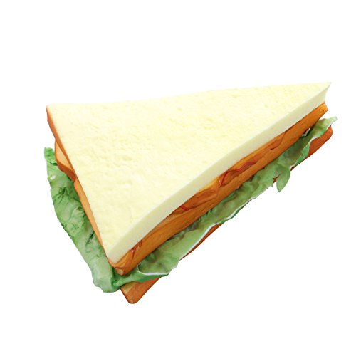 WINOMO Artificial Bread Fake Bread Simulation Food Model Kitchen Prop (Sandwich)