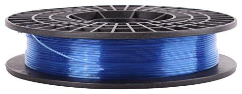 CoLiDo Impression 3D PLA 1.75mm Filament Spool, bleu translucide 0,5 kg LCD009UQ7J