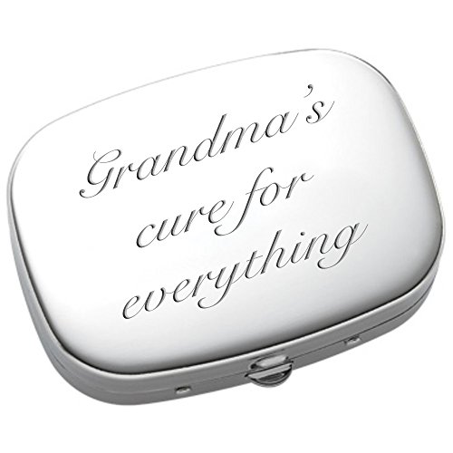 - Personalized Pill Box, Engraved Pill Case, Custom 3 Compartment Pharmaceutical Pocket Holder & Compact Mirror, Monogram Pill Box and Mirror