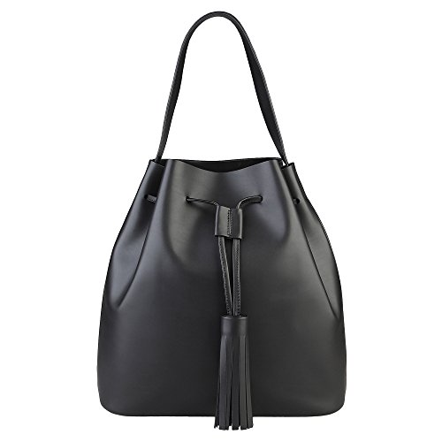 Handle Bag Made In Italy Black Shoulder Ester