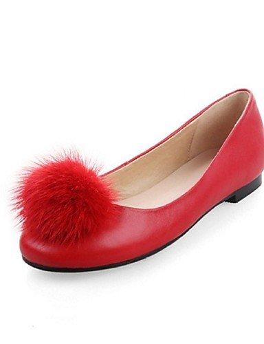 us8 Pomp¨®n eu39 YYZ red Plano eu39 pink Casual Exterior us8 cn39 Tac¨®n eu39 Rojo Negro ZQ Zapatos Rosa uk6 cn39 uk6 cn39 Planos Cuero us8 pink de mujer uk6 1q14Yw