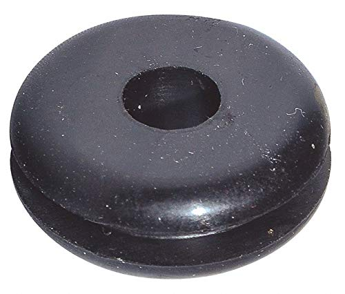 Style 1 Rubber Grommet, 5/16'' I.D, 1'' O.D, 1/16'' Panel Thickness, PK25 - pack of 5