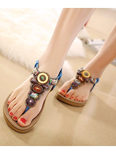 bleu Style2 Femmes Sandales MatchLife Flip Flops x8PUBXq