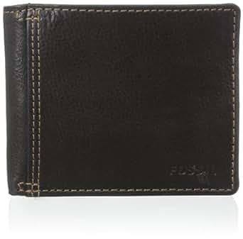 Fossil Bradley Id Bifold Fpw Wallet Black