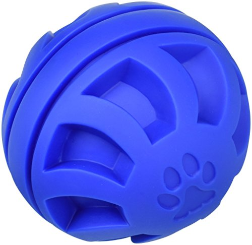 Swirl Ball - Soft-Flex Swirl Ball Dog Toy, 5.5-inch Blue