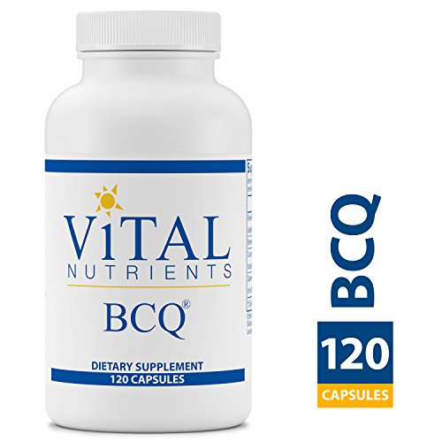 Vital Nutrients - BCQ (Bromelain, Curcumin & Quercetin) - Herbal Support for Joint, Sinus and Digestive Health - Gluten Free - 120 Capsules