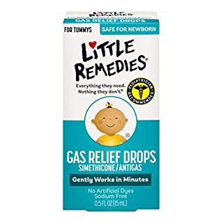 Little Remedies Gas Relief Drops for Tummy's, Natural Berry, 0.5 oz.