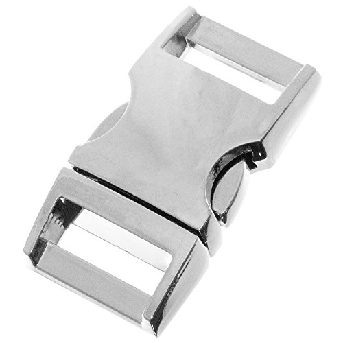 Metal Alloy Buckles - Durable and Strong Construction - Gold, Gunmetal, and Silver Colors in Multiple Pack Sizes ()
