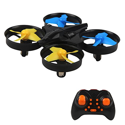 External Remote (Mini Quadcopter with 6-Axis Gyroscope 2.4GHz Drone 3D Flip RC Stunt Drone Headless Mode Remote Control Helicopter One Key Return Toy Drone)
