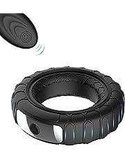 Aquarobo Wheel shape Silicone Vibrating Cōck Rīng Dildo Vibrator Stretchy Pēnis Rings Longer Harder Stronger Clitoral Massage Sēx Toy for Man or Couples Play dress sunglasses