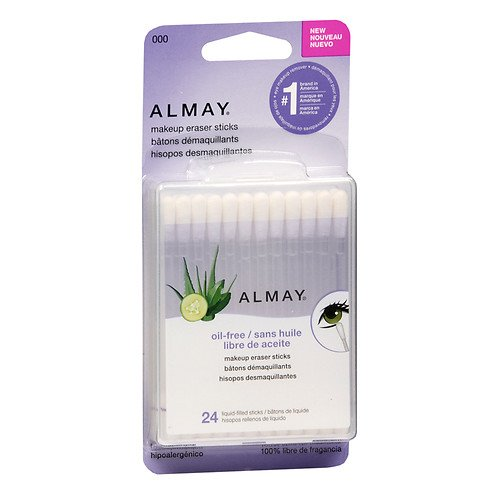 Almay Makeup Eraser Sticks, Liquid Filled Sticks 24 ea (Pack of 4)