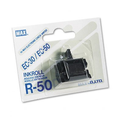 - Max R50 Replacement Ink Roller, Black, EA - MXBR50