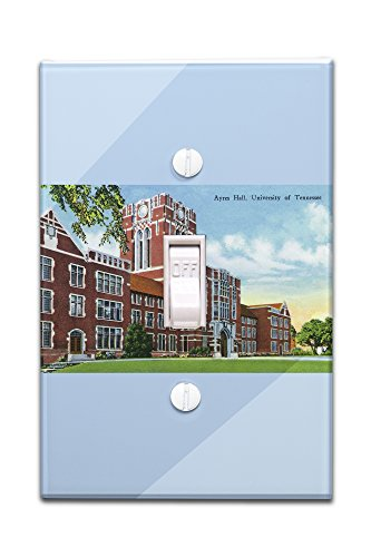 Knoxville, Tennessee - University of Tennessee; Exterior View of Ayres Hall (Light Switchplate Cover)