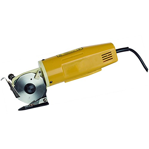 70MM Rotary Blade Electric Fabric Cutter Round Cloth Cutting Machine#021388 by Unknown