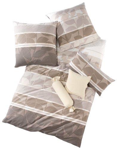 Schlafgut Bettwäsche Single Jersey Nerz Größe 155x200 Cm 80x80 Cm