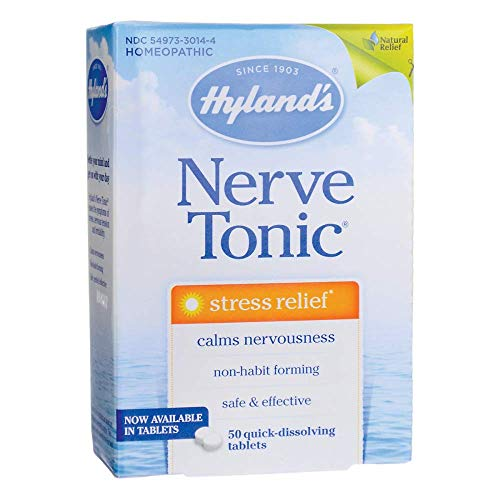 Hylands Nerve Tonic Tablets, 50 Tablets