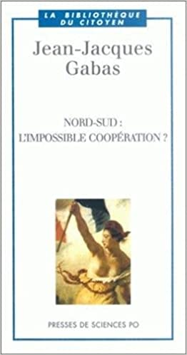 Ebook allemand télécharger Nord-Sud : L'Impossible coopération ? 2724608615 iBook