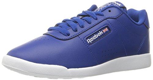 Reebok Women's Princess Lite Classic Shoe Collegiate Royal/White