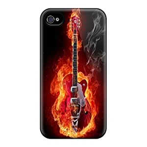 Iphone 4/4s Case Slim [ultra Fit] Music Protective Case Cover