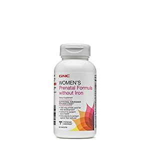 GNC Prenatal Formula Without Iron