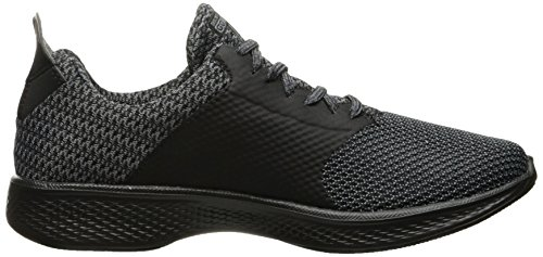 Go Skechers Formateurs Walk 4 Sustain Grey Black Femme Bkgy Noir wwdpqR