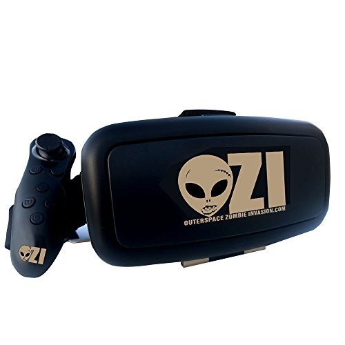 Paradox 4 Light (OuterSpace Zombie Invasion Virtual Reality Headset and Bluetooth Controller)