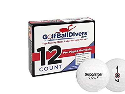 Bridgestone E7-Near Mint AAAA Grade-Recycled Used Golf BALLS-24 Pack from Golf Ball Divers