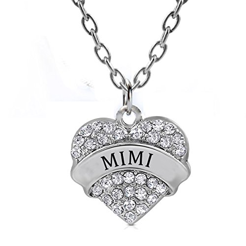 Mimi heart necklace