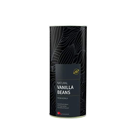 looms & weaves - Natural Vanilla Beans from Kerala - 25 gm - Gourmet Quality