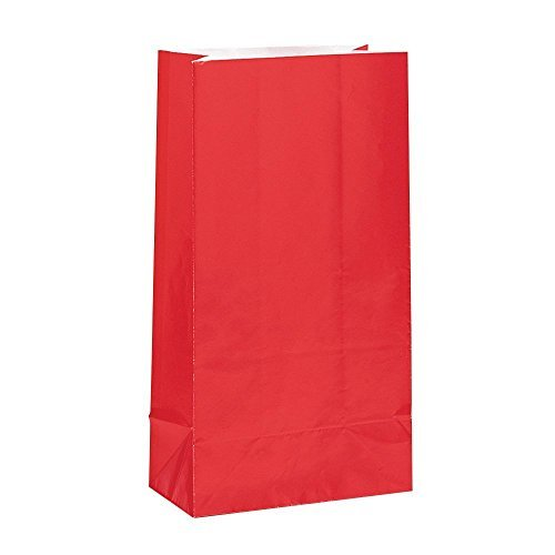 Red Paper Party Favor Bags, 12ct (3 pack)]()