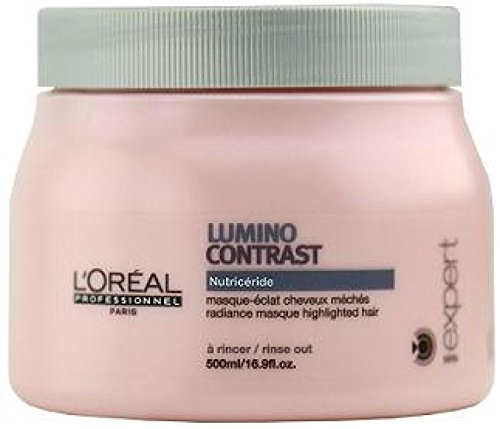 L'oreal Serie Expert Lumino Contrast Masque for Unisex, 16.9 Ounce