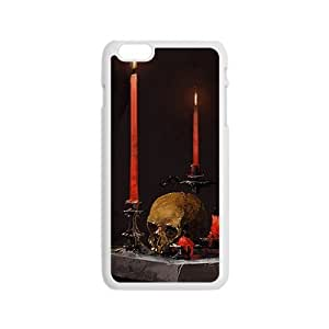 Candles and skull Phone Case for iPhone 6