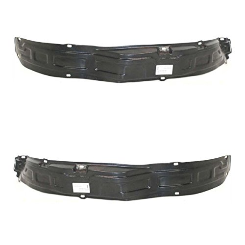 Koolzap For 89-98 Chevy Tracker Front Splash Shield Inner Fender Liner Left & Right SET PAIR ()