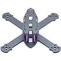 Usmile 210mm 4mm thickness X style Carbon Fiber Quadcopter Frame Kit Mini quad fpv quad quadcopter like QAV-X 210 QAV-X 250 suit for 1806 2204 brushless motor 5 props HS117 RunCam Swift