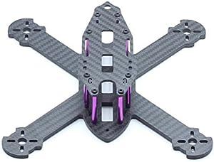 Usmile 210mm 4mm Thickness X Style Carbon Fiber Quadcopter Frame Kit Mini Quad FPV Quad Quadcopter Like QAV-X 210 QAV-X 250 Suit for 1806 2204 brushless Motor 5