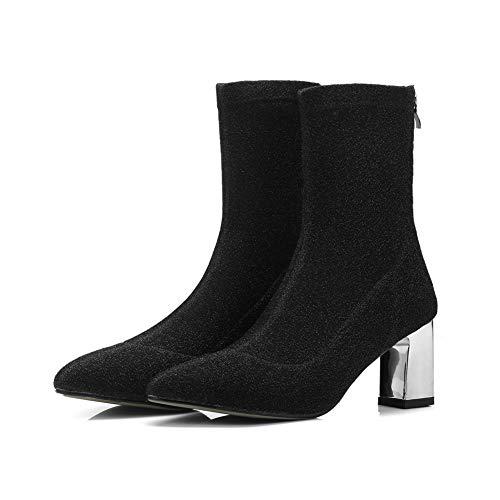 Balamasa Noir Compensées Sandales Abl11769 Femme qzSAY