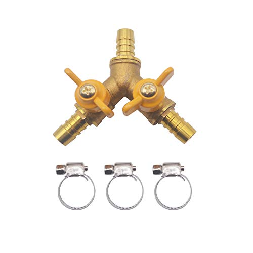 Midline Valve GUHW-34S34S GASLxL1212 Premium Brass Gas Ball Valve x 1//2 in Flare Connections 1//2 in x 1//2