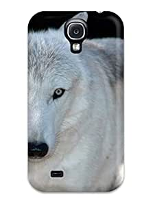 1612083K99231284 Case Cover Wolf Galaxy S4 Protective Case