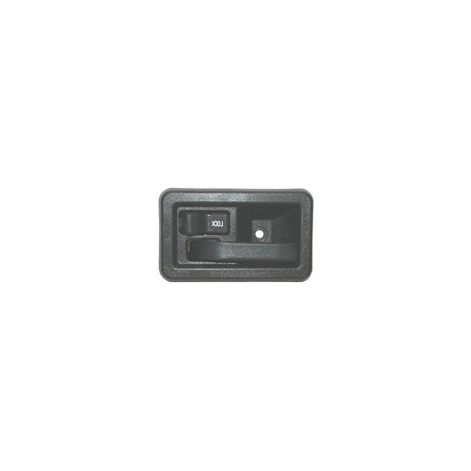 97 02 JEEP WRANGLER INSIDE DOOR HANDLE LEFT BLACK